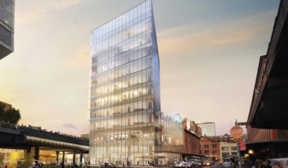 New Office Tower in Chelsea