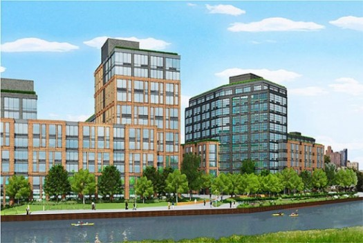 Rendering of Lighthouse Groups 700-unit Luxury Rental Complex in Gowanus