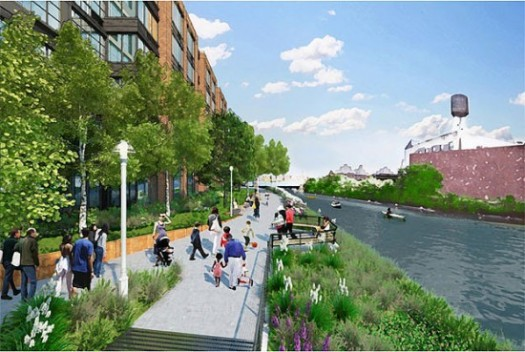 The Promenade at Lighthouse Group's Planned 700-unit Luxury Rental Complex Along the Gowanus Canal