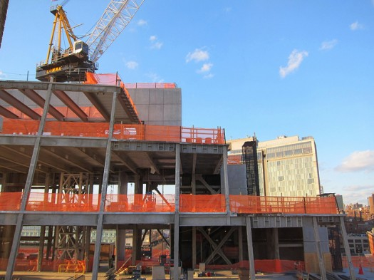 Construction Continues on the Whitney Museum of American Art