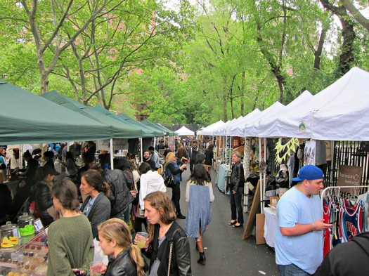 Hester Street Fair in the Lower East Side