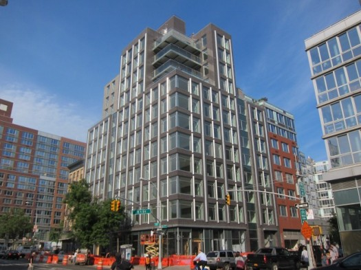 New Apartment Building in the East Village