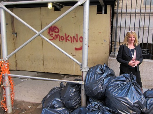 Some Tenants are Not Happy with Related's New No Smoking Policy