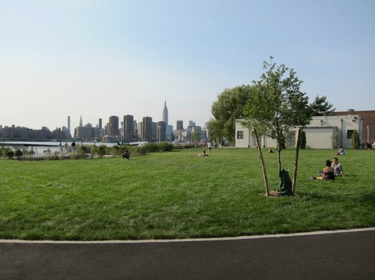 Transmitter Park in Greenpoint is Quiet... for Now