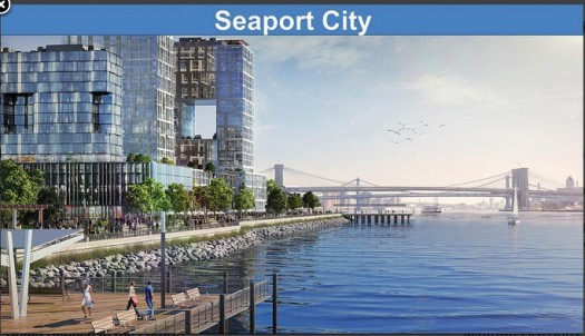 Proposed Seaport City, Would House People AND Protect Against Flooding
