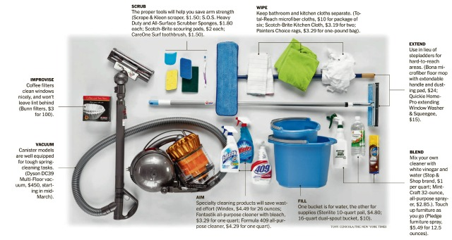 Nyc-rental-apartments-spring-cleaning-tools