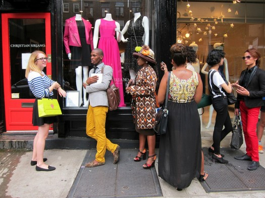 Siriano in Nolita, One of NYC's Most Stylish Neighborhoods