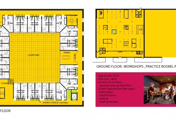 Rentals-for-singles-courtyard-model